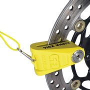 Oxford Alpha XD14 Disc Lock 14mm Yellow LK276